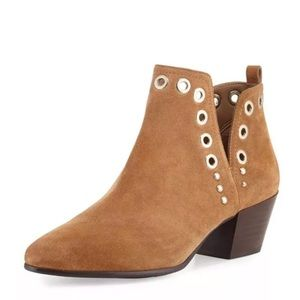 Sam Edelman Rubin suede grommet ankle boots